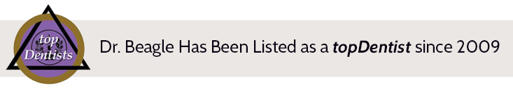 Jay Beagle listed as a topDentist since 2009